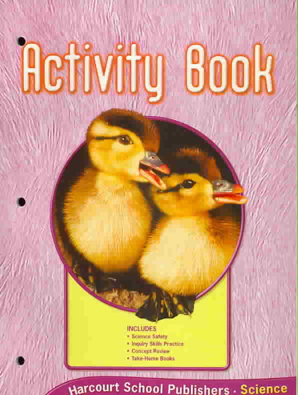 Not Available (NA),  Harcourt School Publishers - Harcourt Science -Activity Book - Grade K