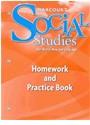 Hsp (COR), Harcourt School Publishers - Social Studies, Grade K Homework&practice Book