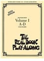 Not Available (NA) - THE REAL BOOK PLAY-ALONG - VOLUME I A-D BASSON, TROMBONE, VIOLONCELLE OU BASSE +CD