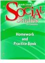 Hsp (COR), Harcourt School Publishers - Social Studies, Grade 3 Homework&practice Book