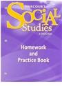 Hsp (COR), Harcourt School Publishers - Social Studies, Grade 1 Homework&practice Book