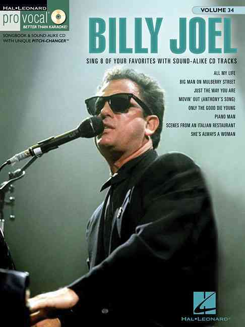 Billy (CRT)/ Hal Leonard Publishing Corporat Joel - BILLY JOEL  +CD