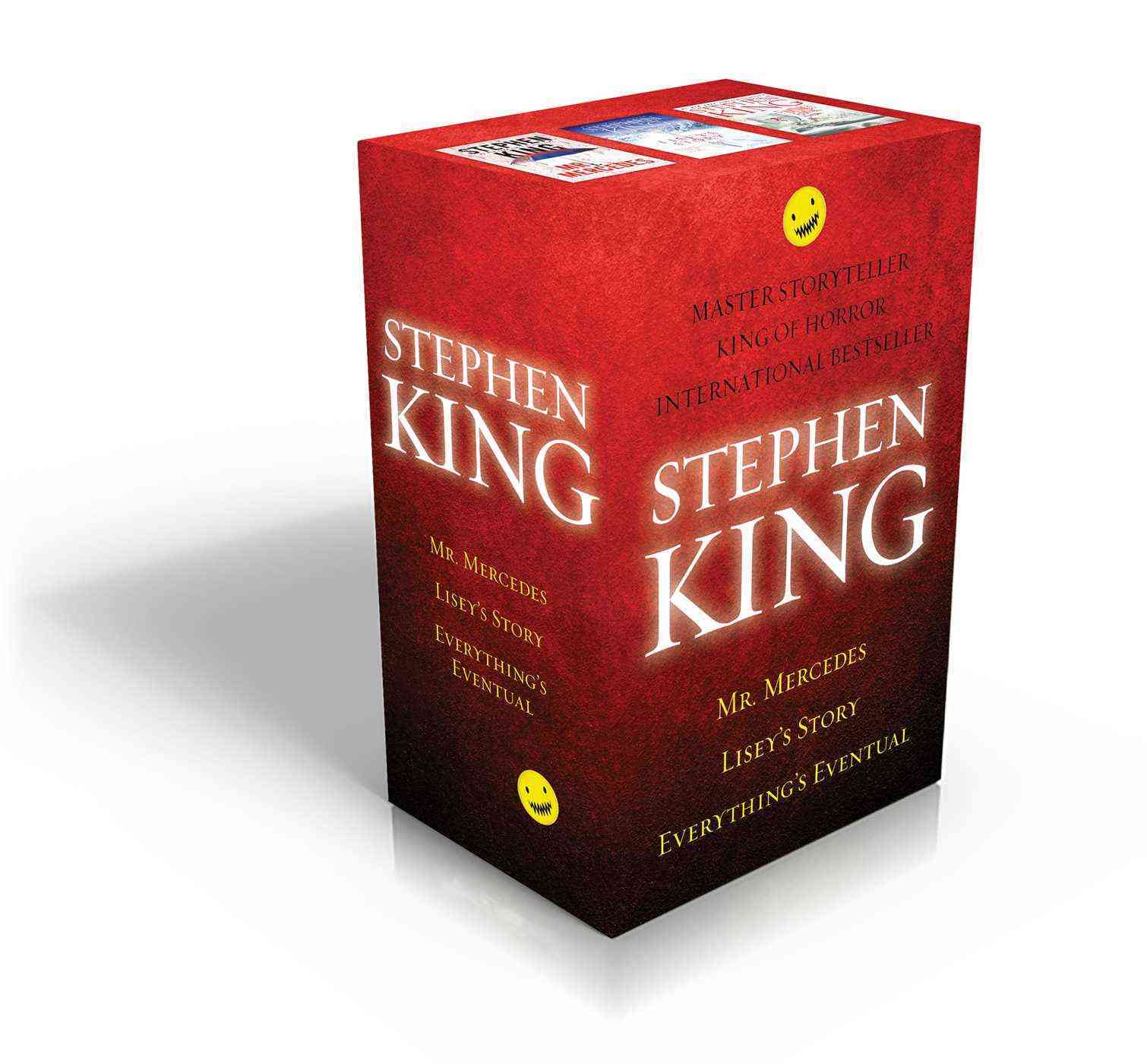 Stephen King - Stephen King Box Set - Mr. Mercedes / Everything's Eventual / Lisey's Story