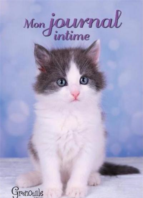 Collectif,  Vincent Robert - Mon journal intime : chaton