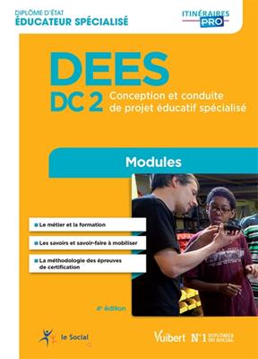 Cécile Soris,  Collectif,  Stéphane Rullac - DEES : DC2, conception et conduite de projet éducatif spécialisé : modules