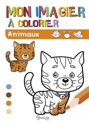 Collectif - Animaux : mon imagier à colorier