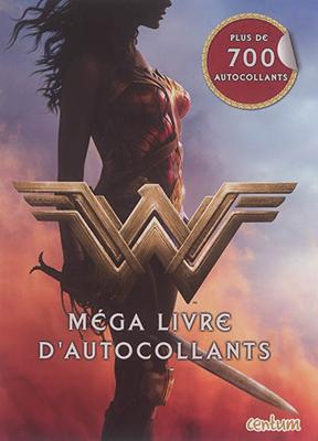 Collectif - Wonder Woman : méga livre d'autocollants