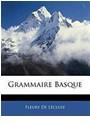 Fleury De Lcluse, Fleury De Lécluse - Grammaire Basque
