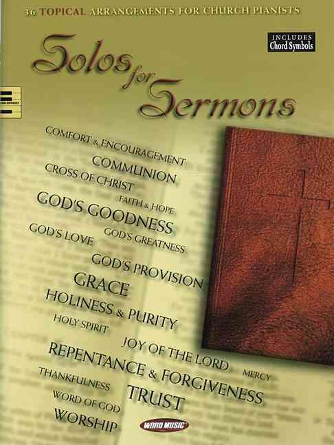 Hal Leonard Publishing Corporation (COR),  Hal Leonard Publishing Corporation - SOLOS FOR SERMONS PIANO
