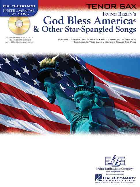 Not Available (NA),  Hal Leonard Publishing Corporation - GOD BLESS AMERICA & OTHER STAR-SPANGLED SONGS SAXOPHONE +CD