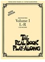 THE REAL BOOK PLAY-ALONG - VOLUME I L-R BASSON, TROMBONE, VIOLONCELLE OU BASSE +CD