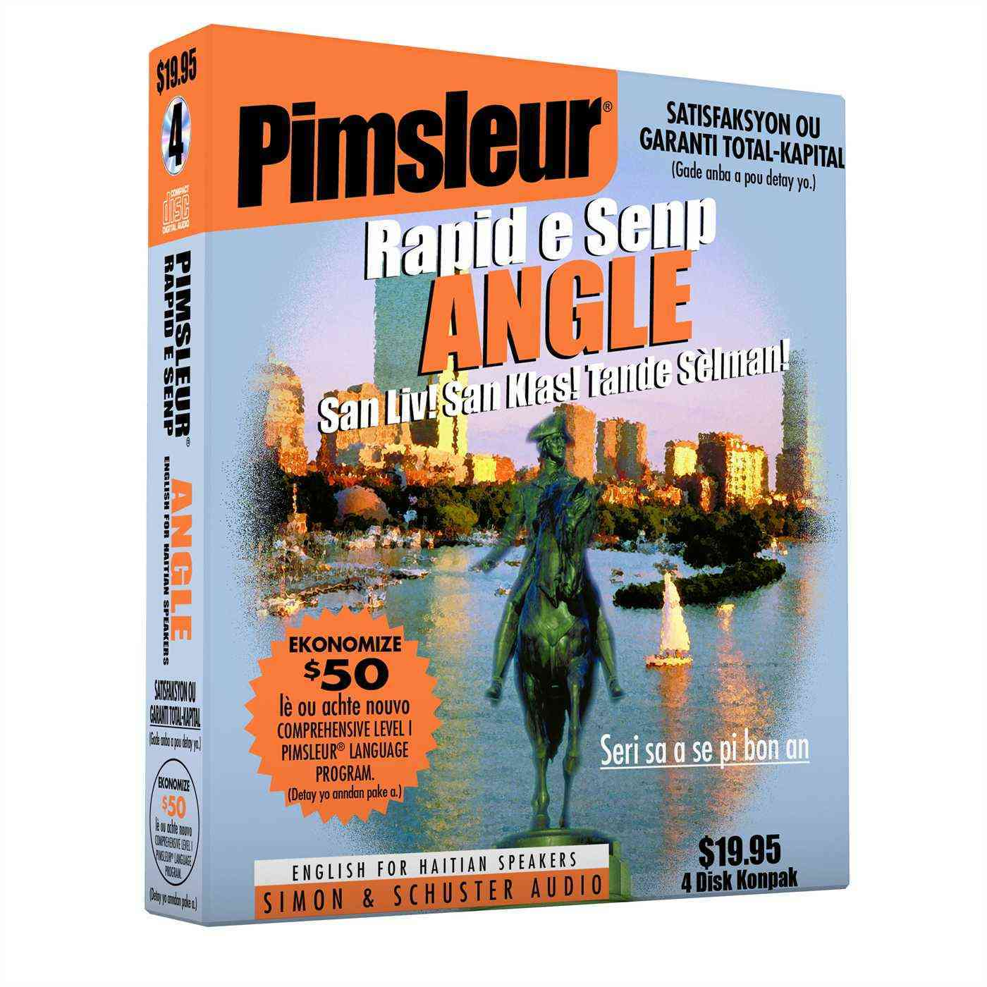 Pimsleur,  Pimsleur Language Programs - Pimsleur Rapid e Senp Angle English For Haitian Speakers - San Liv! San Kias! Tande Selman!