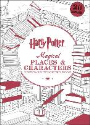 Scholastic, Inc. Scholastic, Scholastic Inc. (COR) - Harry Potter Magical Places & Characters Postcard Coloring Book